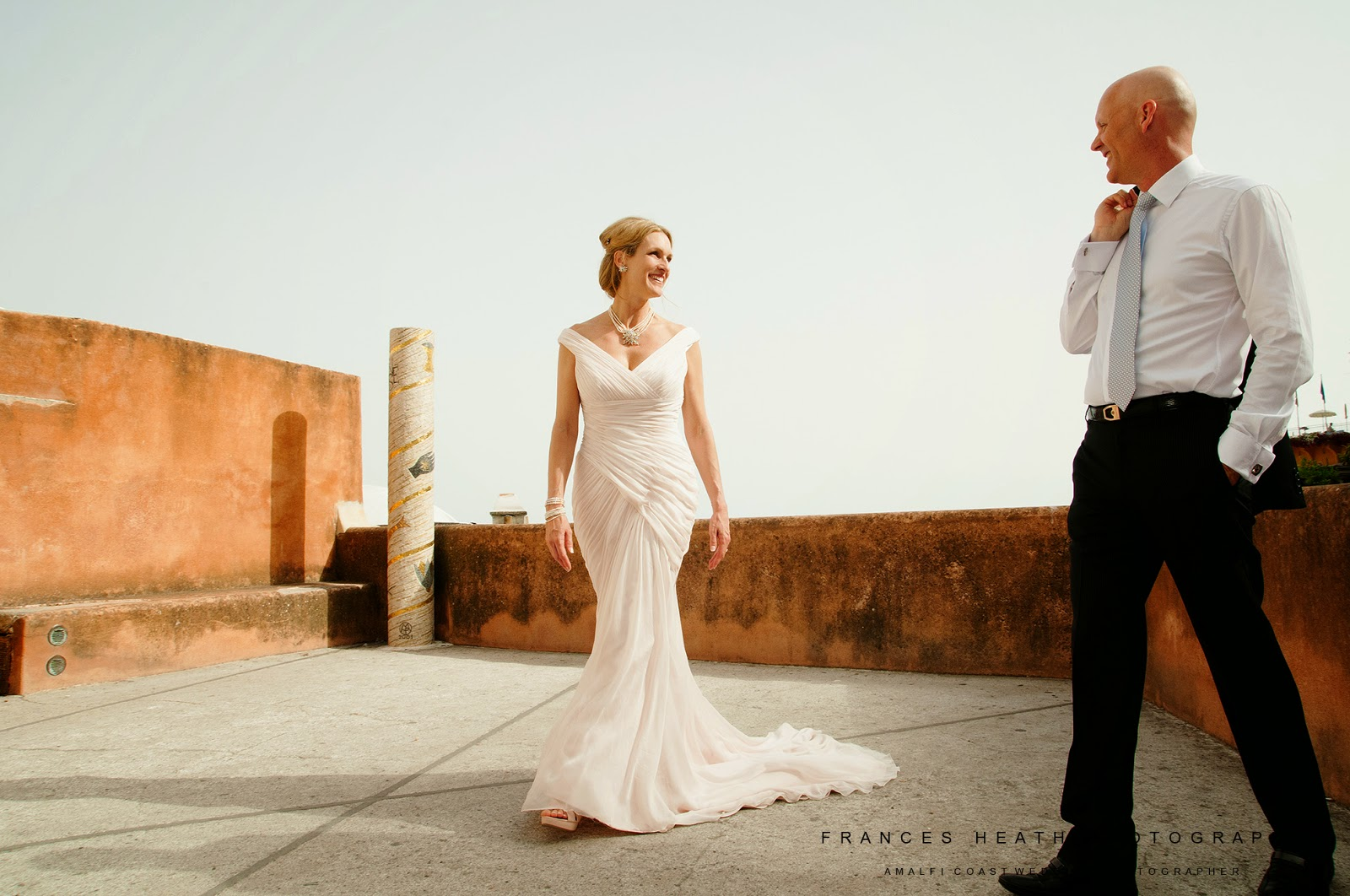 Wedding portraits in Positano Italy