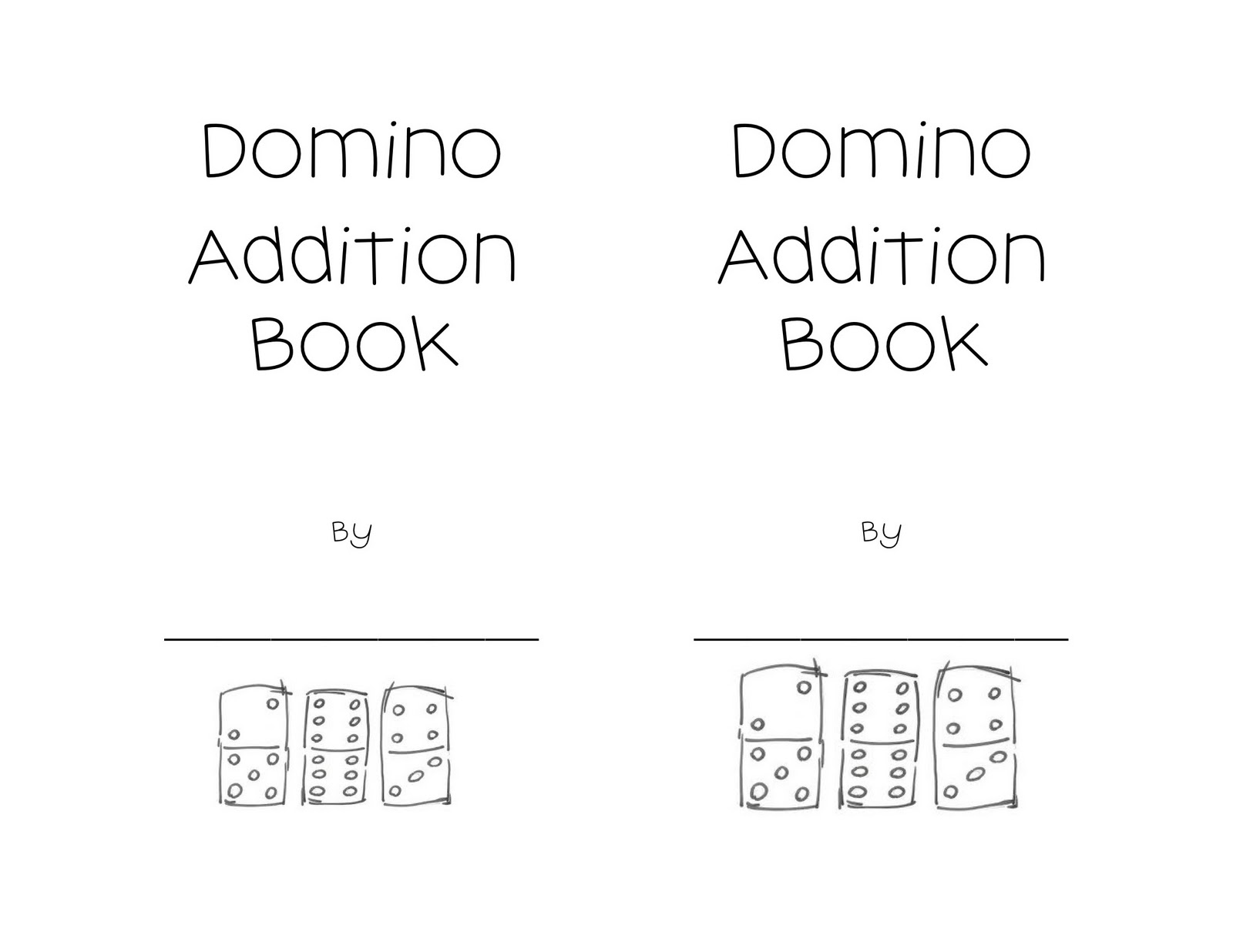 Kindergarten Night Owls Domino Addition Book