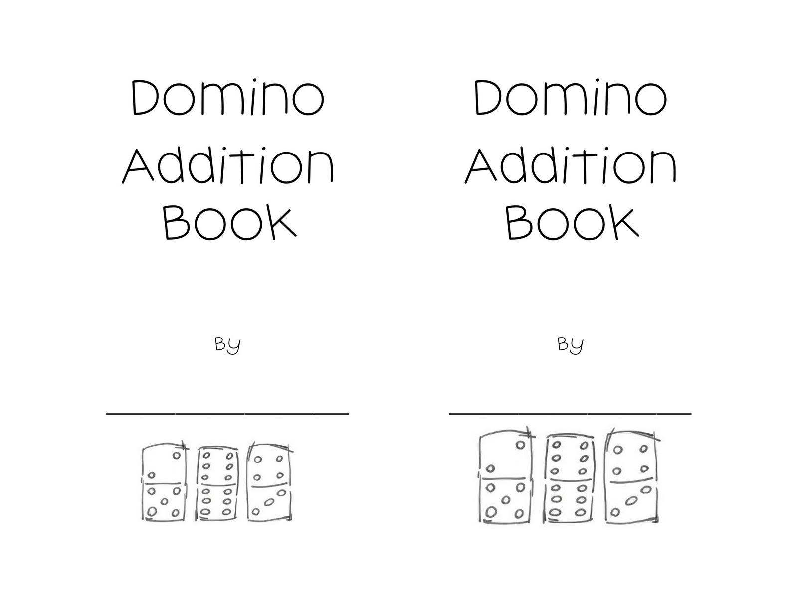 Kindergarten Night Owls Domino Addition Book
