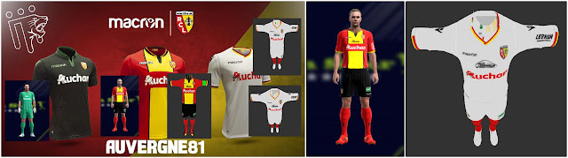 Pes 2013 Kits Rc Lens 2018 2019 Kazemario Evolution