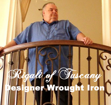 Don Rigali - Artist - Designer Wrought Iron - Rigali of Tuscany