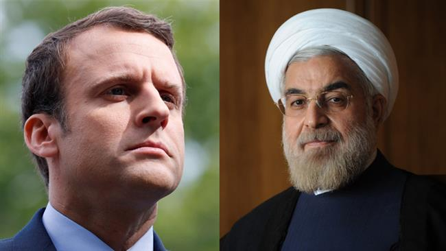 Iranian and French presidents ready to boost cooperation in fighting terrorism