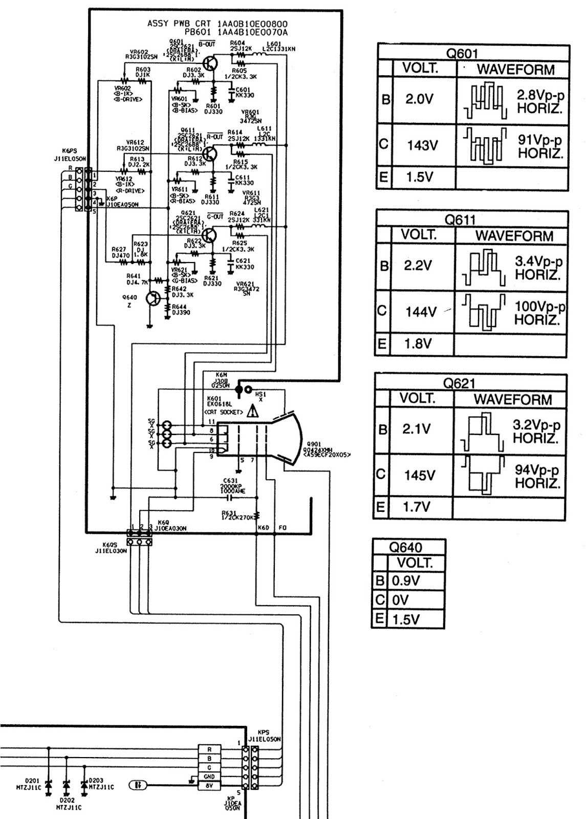 working of crt monitor with diagram scooter controller schematic troubleshooting tv no picture audio ok white