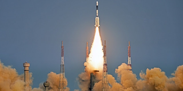 GSLV launch on March 29. Credit: ISRO.