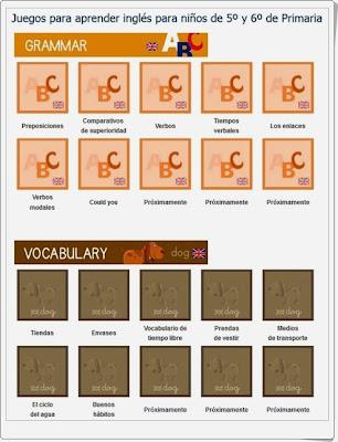 http://www.mundoprimaria.com/juegos-de-ingles/juegos-para-aprender-ingles-5o-y-6o-primaria
