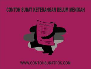 Gambar untuk Contoh Surat Keterangan Belum Menikah Dari Kelurahan