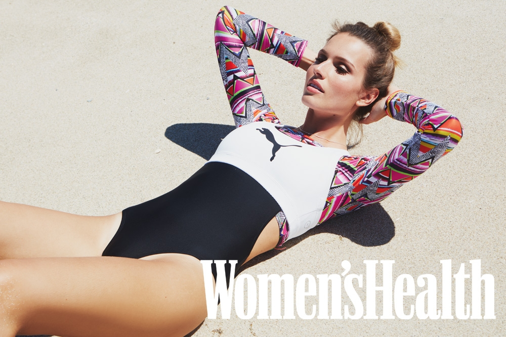 Jani Gabriel in Women's Health Magazine