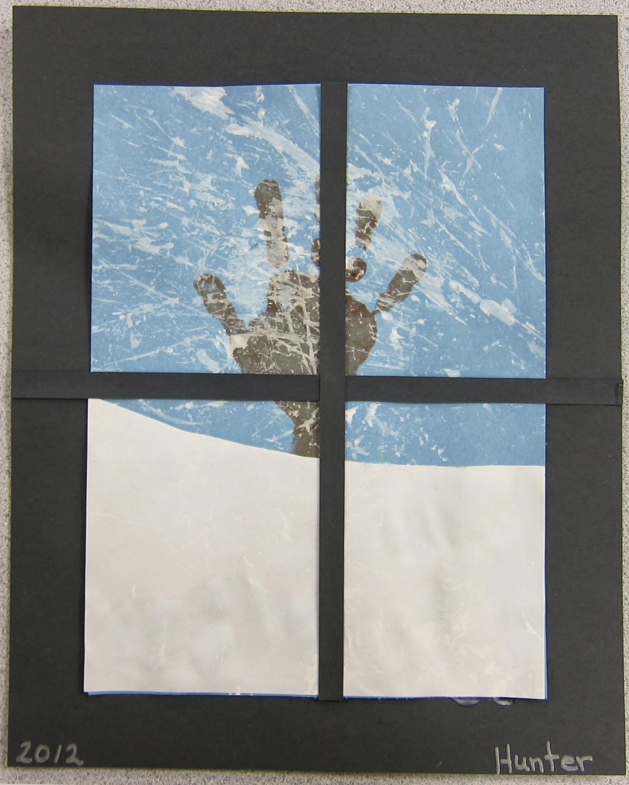 Mrs. Karen's Preschool Ideas: Winter Window