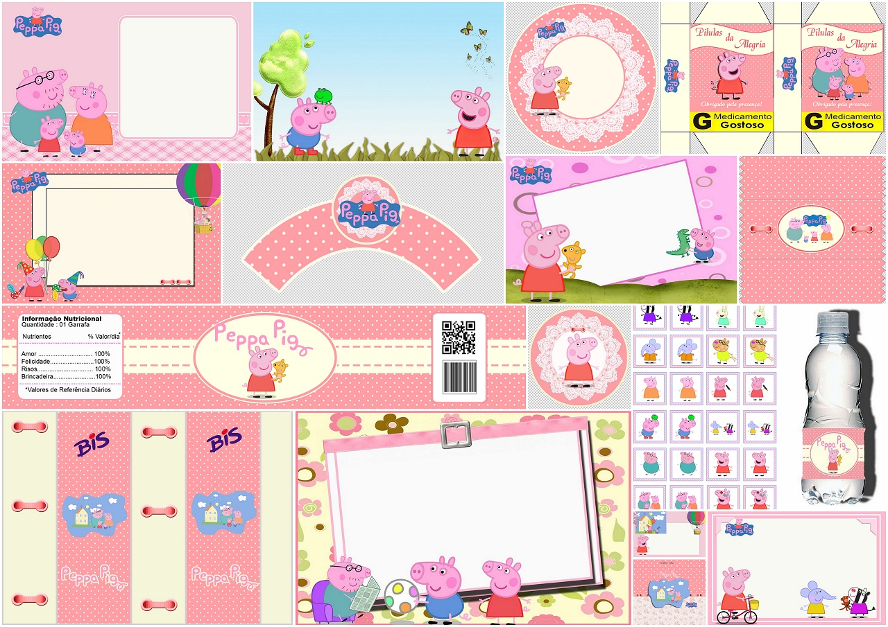 photograph relating to Printable Party called Peppa Pig and Spouse and children: Cost-free Printable Occasion Package. - Oh My