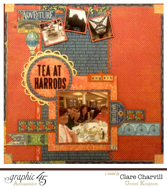 Worlds Fair Layout Clare Charvill Graphic 45