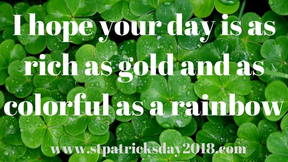 St. Patrick's Day Just right Success Photographs 2018