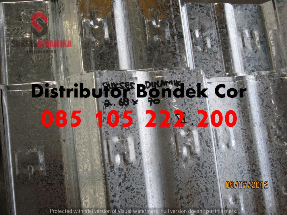 harga baja ringan kencana di semarang bondek 6 m paling murah | 081-330-690-081
