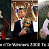 Ballon d'Or Winners 2000 To 2016