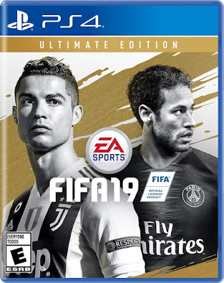 Fifa 19 Game Cover Ps4 Ultimate Edition