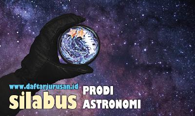 Mata Kuliah Yang Dipelajari Pada Astronomi