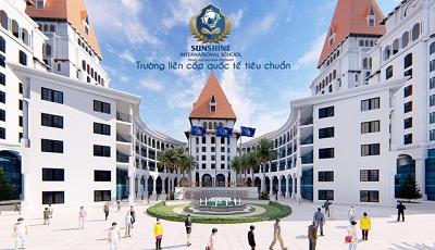 Phối cảnh trường học quốc tế Sunshine School