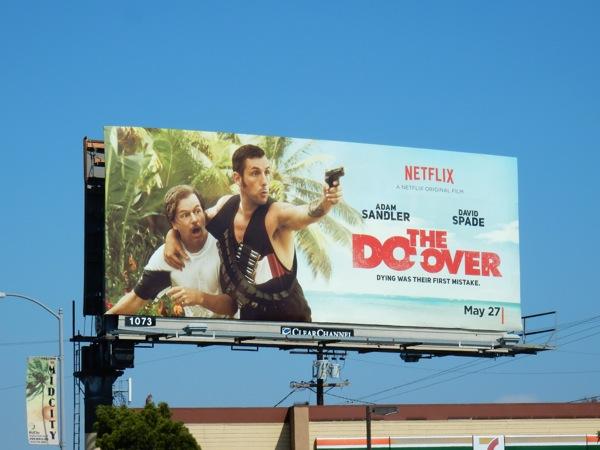 Do-Over movie billboard