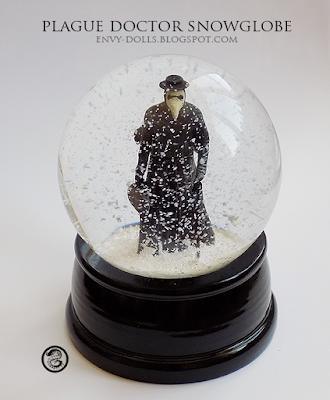 plague doctor sculpture