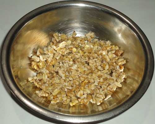 chopped walnut image