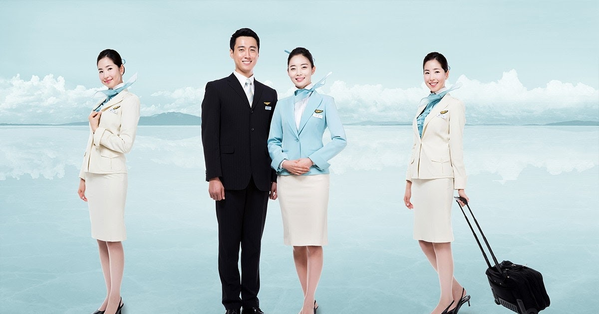 fly gosh  korean air cabin crew recruitment