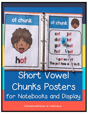 Short Vowel Phonics Posters
