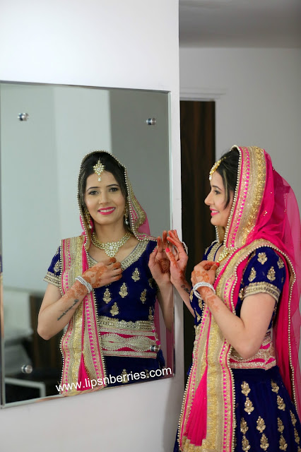 punjabi bride makeup