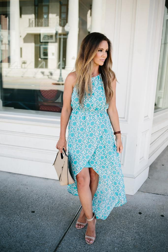 KBStyled: maxi dresses, summer dresses, blue dresses