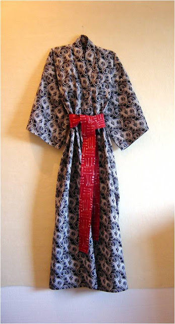 Lynda chose the long version of the Modern Robe 53d72d485