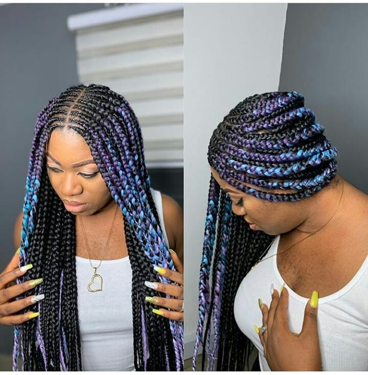 Braid Hairstyles With Weave Free Shipping Off73 Id 95