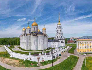 Tour a Vladimir Suzdal en tren desde Moscu