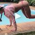Vídeo | Abdominal com o rolinho no pé | Camila Guper