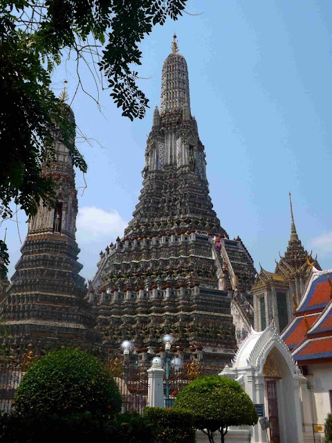 Thaïlande, Bangkok, temple, bouddha, ou dormir, Kao san road, Wat pho, bouddha allongé.