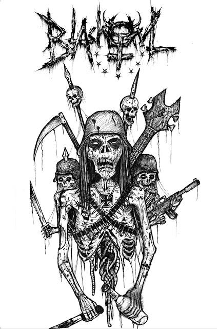 blackowl black speed thrash punk metal