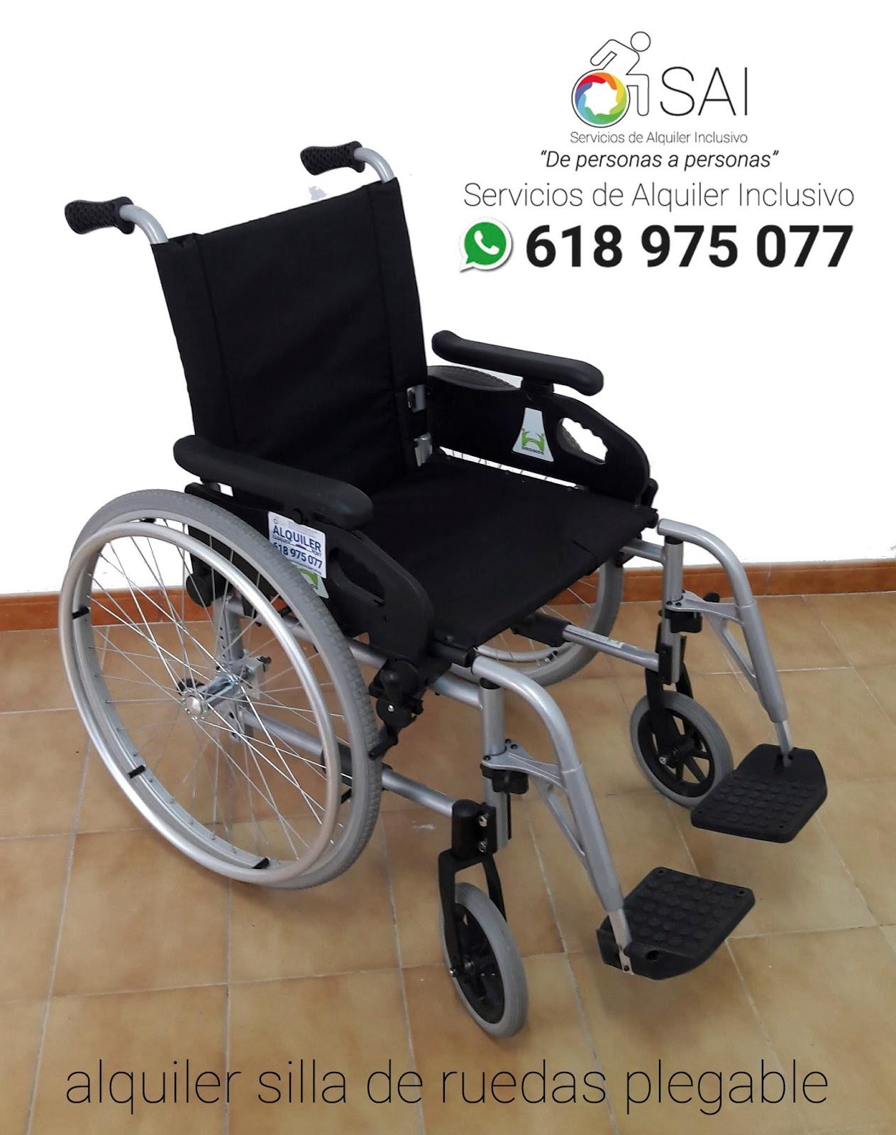 Servicios Alquiler Inclusivo Barcelona Alquiler Sillas de Ruedas