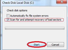 Hướng Dẫn Sửa Lỗi Bad Ổ Cứng (Fix Bad Hdd) Trên Windows - Chkdsk - Top5Free