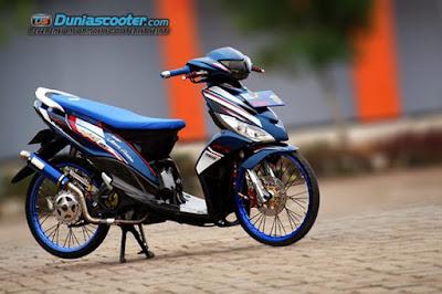 Modifikasi Motor Mio J Itu Tentang Thailook Style