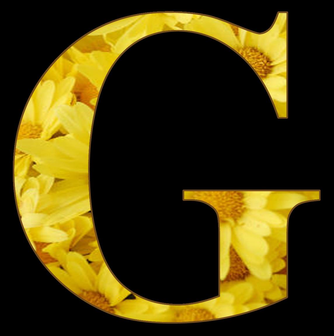granny enchanted u0026 39 s blog  free yellow floral alphabet
