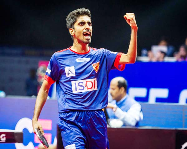 Sathiyan upsets world No. 8 as Dabang Smashers T.T.C. take control over  DHFL Maharashtra United