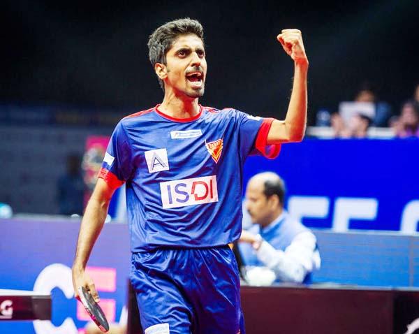 Sathiyan upsets world No. 8 as Dabang Smashers T.T.C. take control over  DHFL Maharashtra United