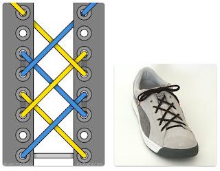 Tali Sepatu Hash Lacing