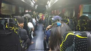 Suasana di dalam Bis Go Genting