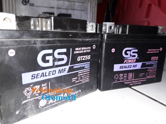 Cara Membedakan Aki Motor GS Asli dan Palsu (abal-abal)