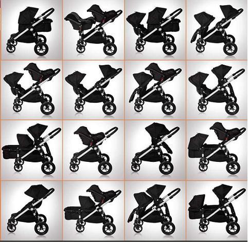 Baby Jogger City Select Double Julia Ryan