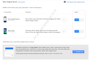 Cara Memasang Iklan Seluler Tingkat Laman Fitur Terbaru Google Adsense