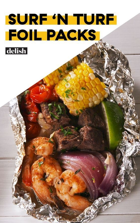 Surf 'n Turf Foil Packs