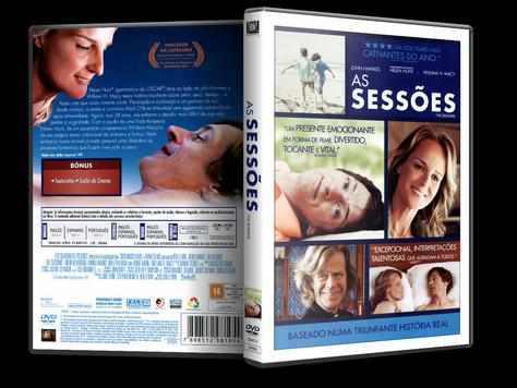 Capa DVD As Sessões