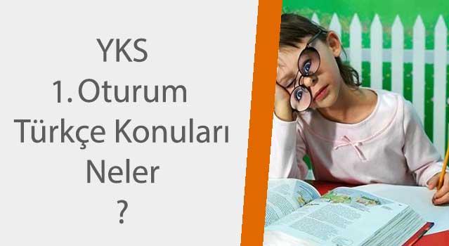 YKS 2018 türkçe konuları