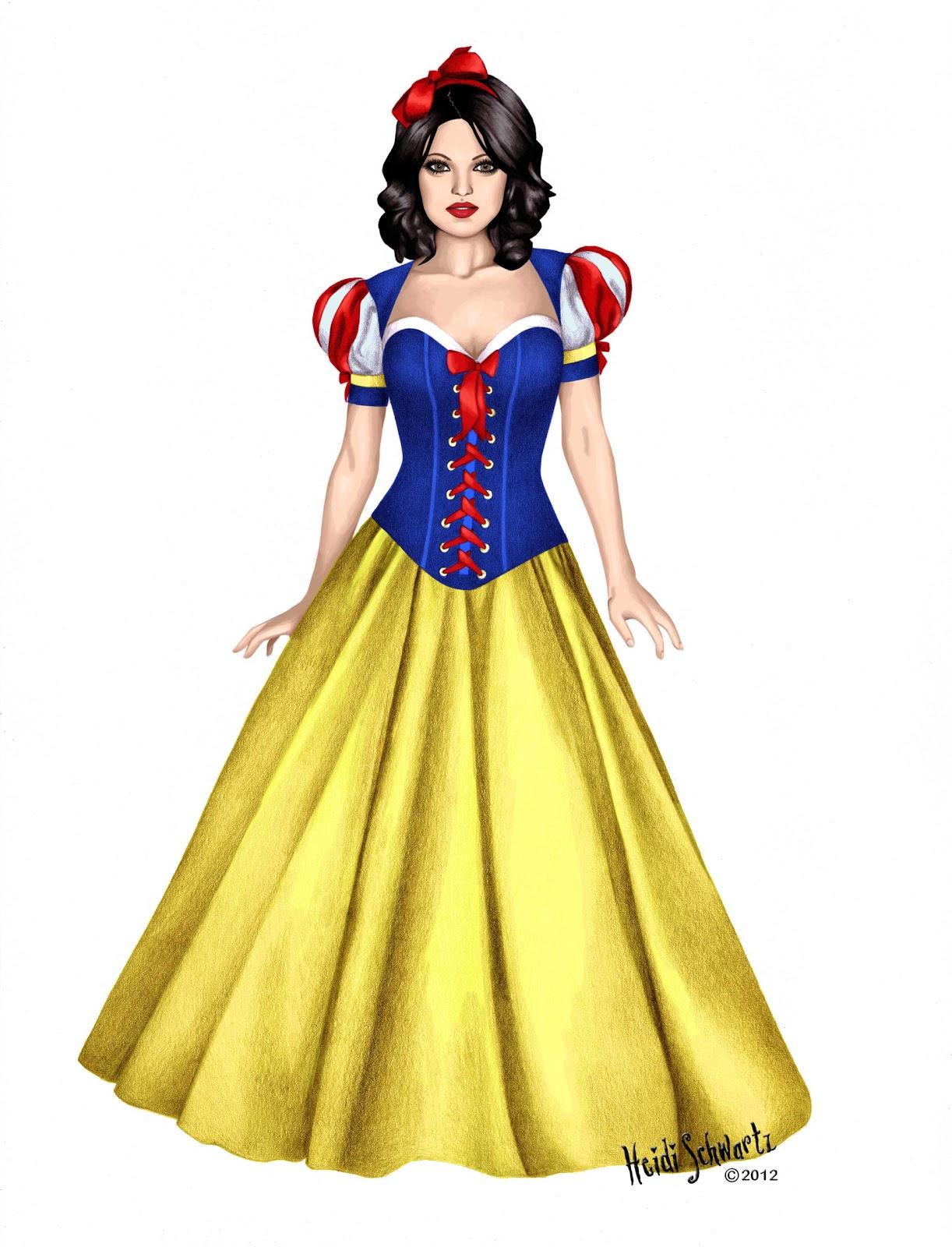 Heidi Schwartz: Classic Snow White Character Development