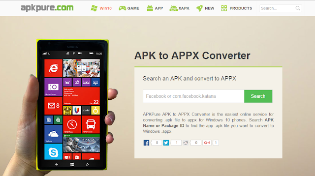 How to Convert APK to APPX by APK to APPX Converter? - apk