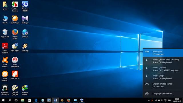 Cara Menampilkan Keyboard Bahasa Arab Di Laptop